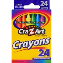 Crazy Art Crayons