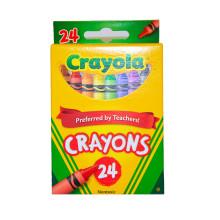 002-CR523024 Crayola Crayons 24 ct.