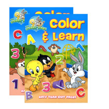 Looney Tunes Color and Learn