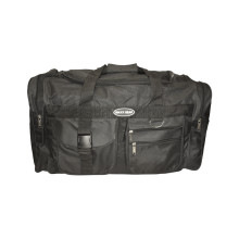 001-DFB24 Duffle Bag Black Front