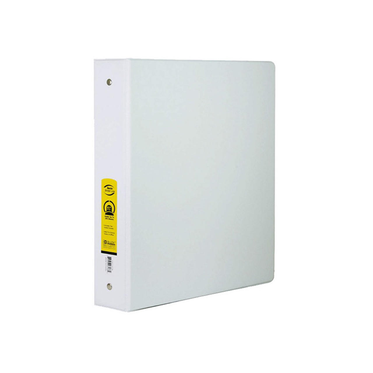 1 white 3 ring binder w 2 pockets 002 3134 backpack gear inc