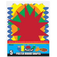 2059 Poster Board Shapes
