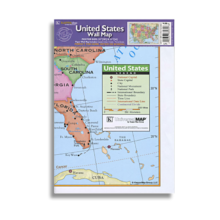 84345 United States Wall Map