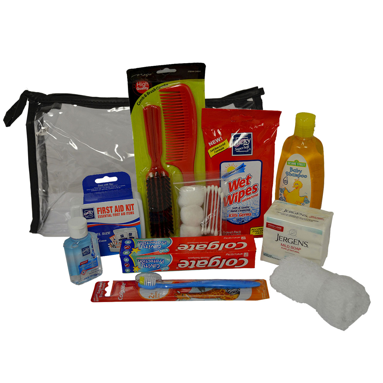 Deluxe Kids Personal Hygiene Kit 003 Kck008 Backpack