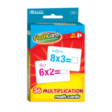 002-534 Flash Cards - Multiplication