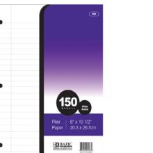 002-568 Filler Paper WR 150 sht