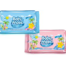 007-10485 Baby Wipes 80 ct.