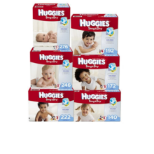 007-355732  Huggies Snug & Dry Diapers Economy Pack