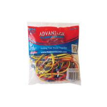 Advantage Rubber Bands Assorted Colors